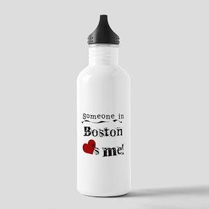 Boston Loves Me Stainless Water Bottle 1.0L