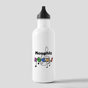 Memphis Rocks Stainless Water Bottle 1.0L