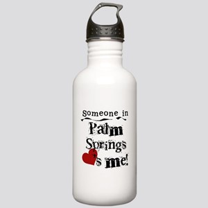 Palm Springs Loves Me Stainless Water Bottle 1.0L