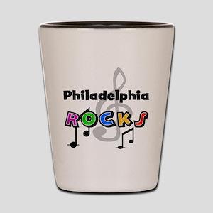 Philadelphia Rocks Shot Glass