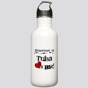 Tulsa Loves Me Stainless Water Bottle 1.0L