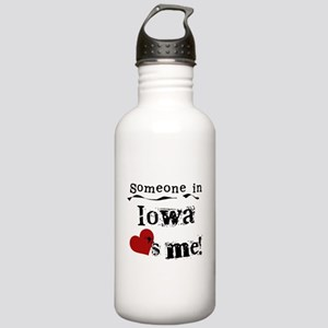 Someone in Iowa Stainless Water Bottle 1.0L
