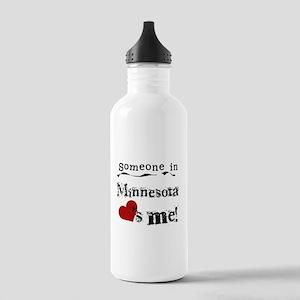 Minnesota Loves Me Stainless Water Bottle 1.0L