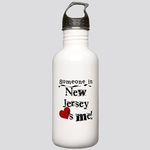Someone in New Jersey Stainless Water Bottle 1.0L