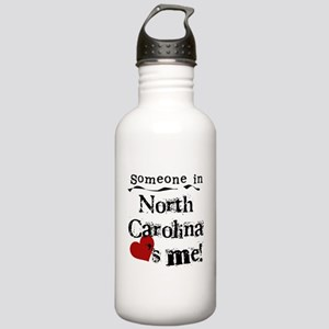 Someone in North Carolina Stainless Water Bottle 1