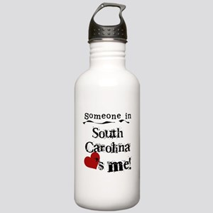 Someone in South Carolina Stainless Water Bottle 1