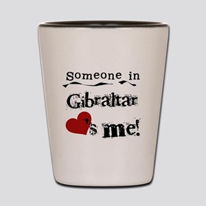 Gibraltar Loves Me Shot Glass