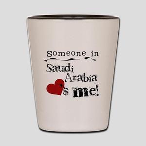 Saudi Arabia Loves Me Shot Glass