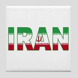 Iran World Cup Soccer Flag Tile Coaster