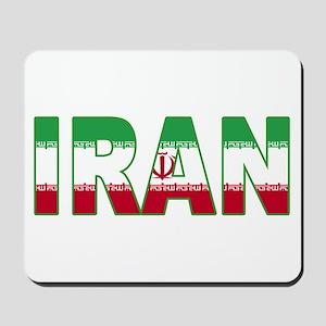 Iran World Cup Soccer Flag Mousepad