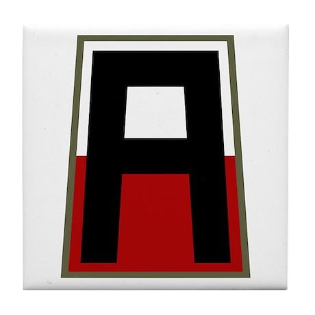 1st Army Tile Coaster
