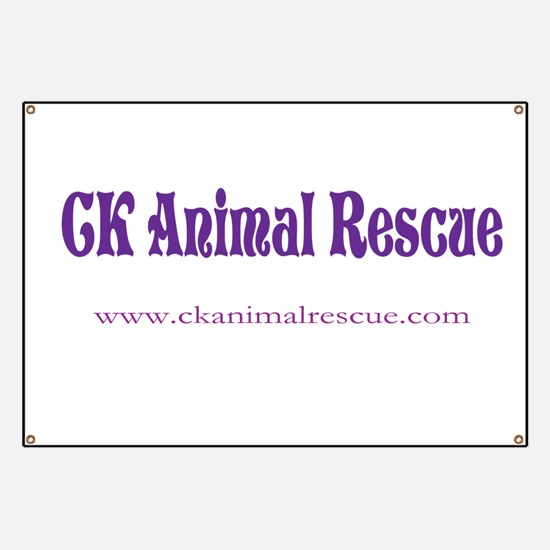 Funny Ck animal rescue Banner