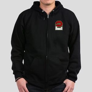 2nd Army Zip Hoodie (dark)