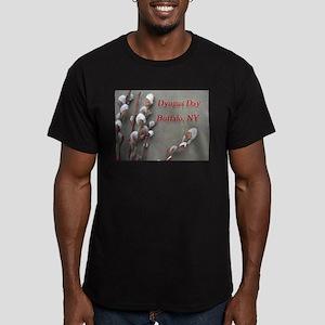 Dyngus Day, Buffalo, NY Men's Fitted T-Shirt (dark