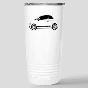 Fiat 500 Stainless Steel Travel Mug