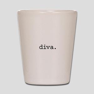diva. Shot Glass