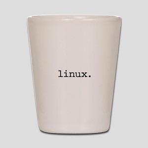 linux. Shot Glass