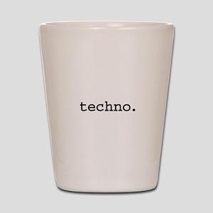 techno. Shot Glass