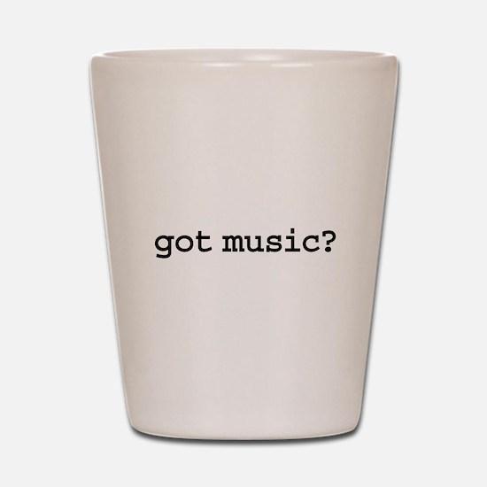 got music? Shot Glass