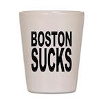 Boston Sucks Shot Glass
