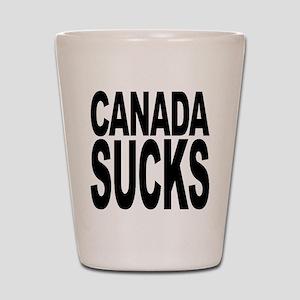 Canada Sucks Shot Glass