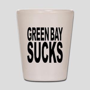 Green Bay Sucks Shot Glass