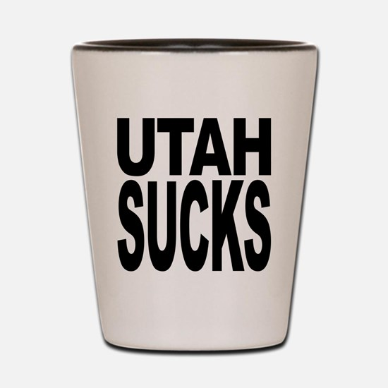 Utah Sucks Shot Glass