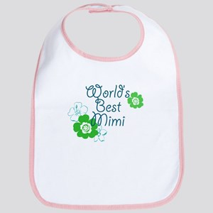 World's Best Mimi Bib