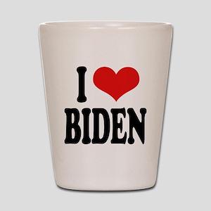 I Love Biden Shot Glass