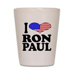 I Love Ron Paul Shot Glass