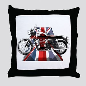 British Bonneville Throw Pillow
