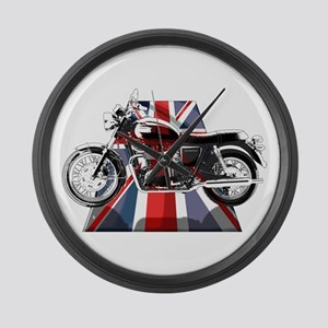 British Bonneville Large Wall Clock