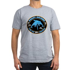 Stop Hunting Whales Men's Fitted T-Shirt (dark)