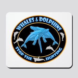 Stop Hunting Whales Mousepad