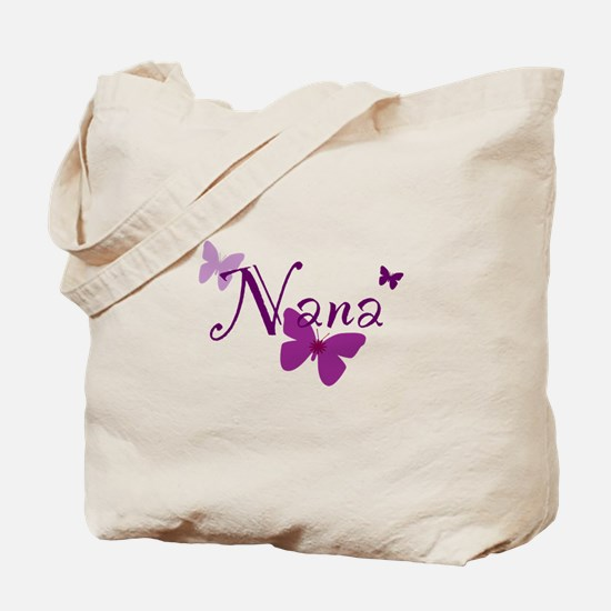 Nana Butterflys Tote Bag