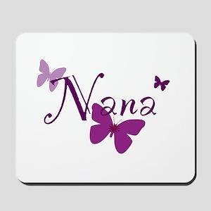 Nana Butterflys Mousepad