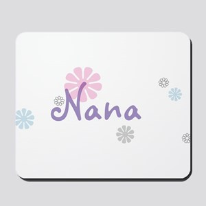 Nana Flowers Mousepad
