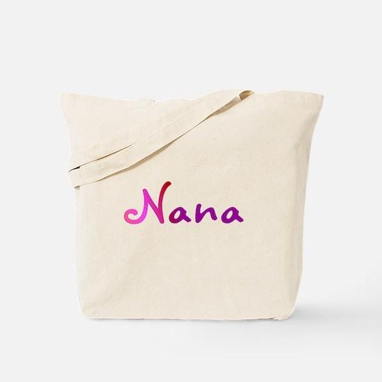 Pink Nana Tote Bag
