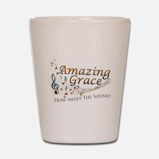 Amazing Grace Shot Glass