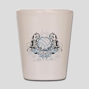 Volleyball Tribal Shot Glass