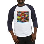 Gottlieb® Duotron Pinball Baseball Jersey