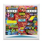 Gottlieb® Duotron Pinball Tile Coaster
