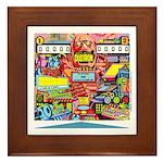 Gottlieb® Duotron Pinball Framed Tile