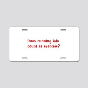 Does running late count as exercise? Aluminum Lice