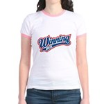 Winning Duh Jr. Ringer T-Shirt