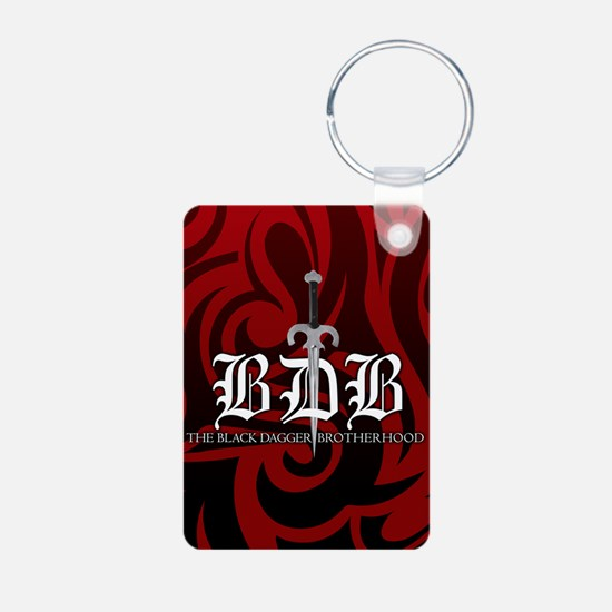 BDB Red Aluminum Keychain