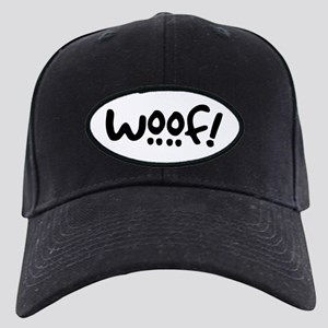 Woof! Dog-Themed Black Cap