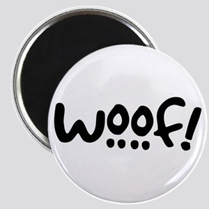 Woof! Dog-Themed Magnet