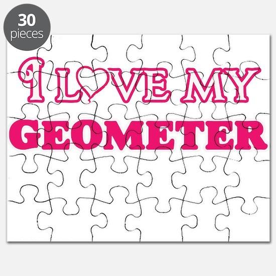 I love my Geometer Puzzle