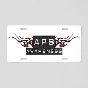 Tribal - APS Awareness Aluminum License Plate